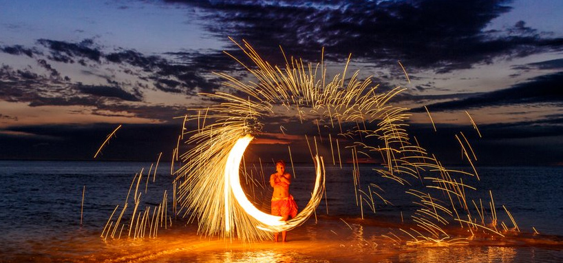 Fiji Fire Dancer