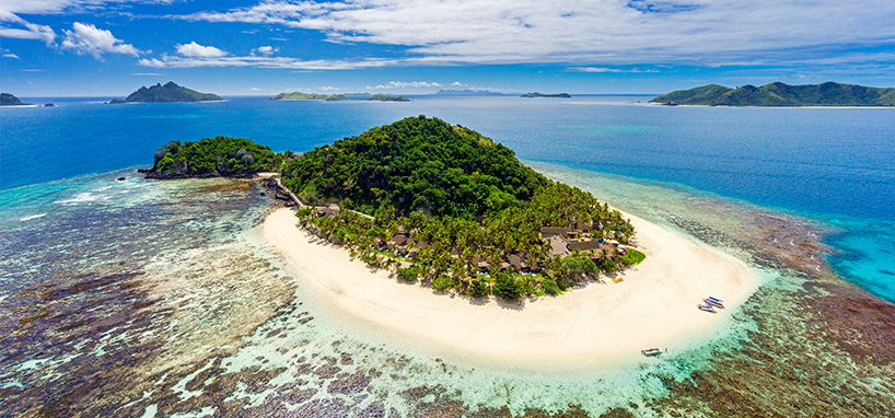 Fiji Island Hopping for Couples Private Island