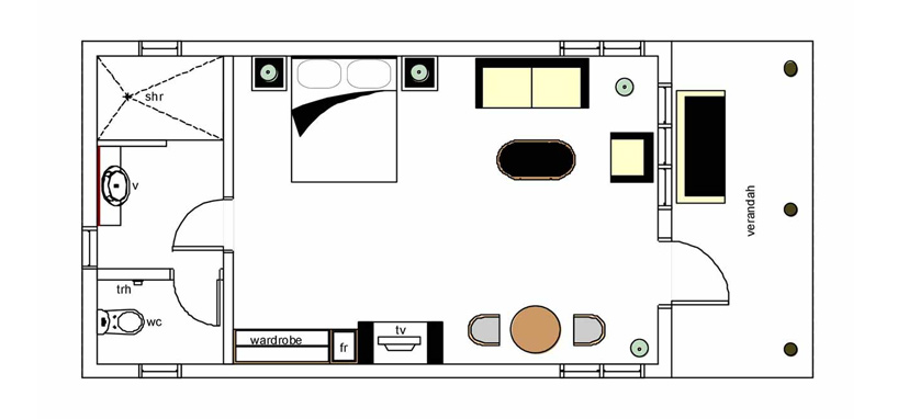 5-star Room Layout in Fiji