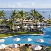 Aerial View of Pool in Luxury Resort