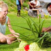 Basket Weaving in Fiji