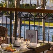 Breakfast in Luxury Fiji Resort