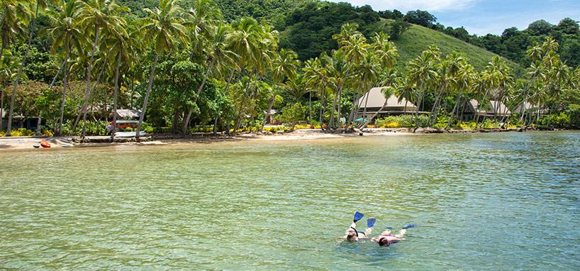Diving Resort Exterior in Fiji