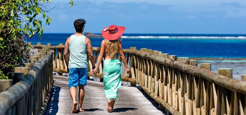 Enjoying the Beach in Fiji
