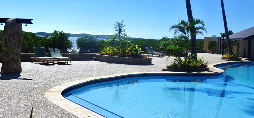 Fiji Diving Resort Pool