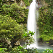 Fiji Honeymoon Waterfalls in Taveuni