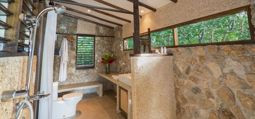 Fiji Stone Bathroom