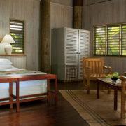Fiji Villa Bed and Sitting Area