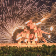 Fireshow in Fiji