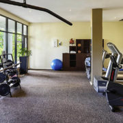 Fitness Center in Luxury Fiji Resort