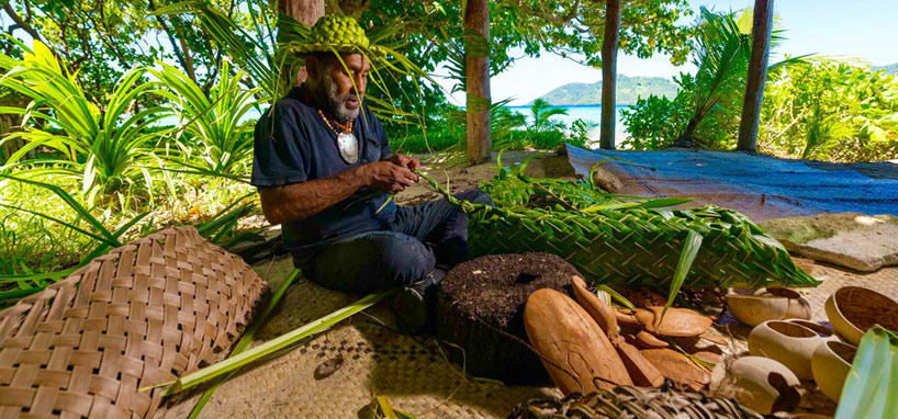 Leaf Weaving in Fiji