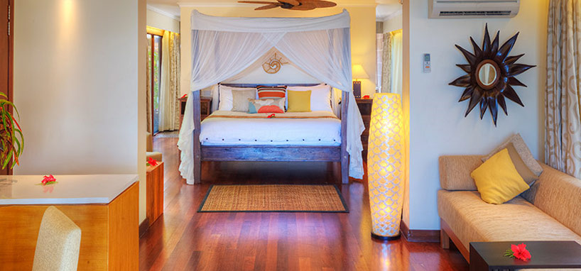 Ocean View Suite Bedroom in Fiji
