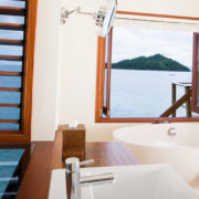 Overwater Bathroom in Fiji