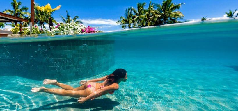 Pool in Luxury Fiji Resort