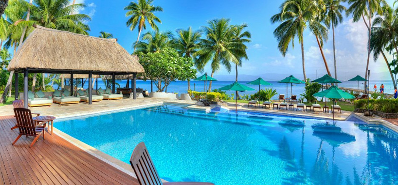 Pool with Day Beds in Fiji