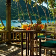 Private Oceanfront Deck Villa