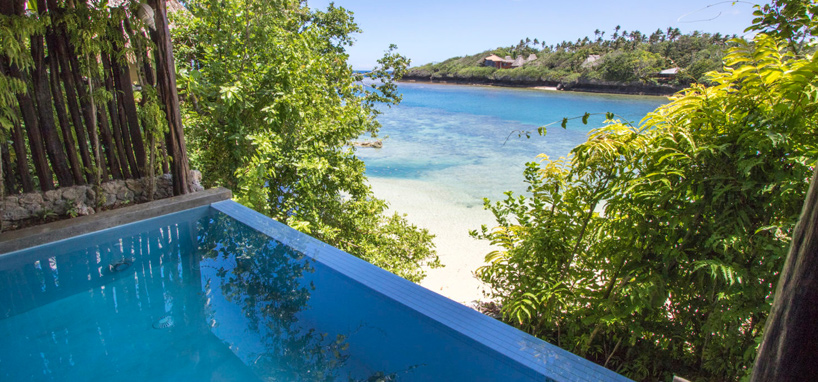 Private Plunge Pool in Fiji