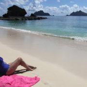 Relaxing in the Beach in Fiji
