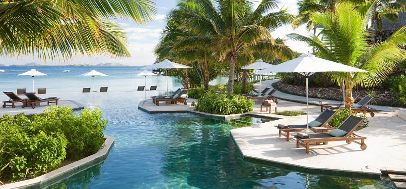 Resort Pool in Fiji