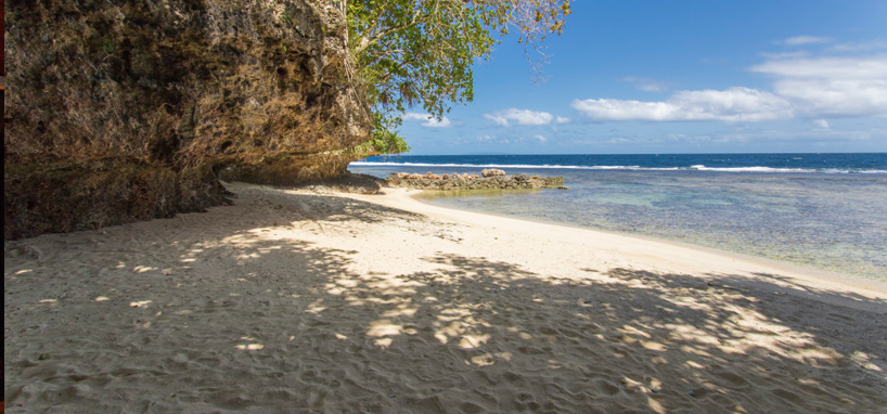 Secluded Beach in Fiji
