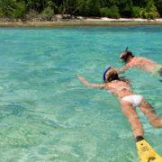 Snorkeling in Fiji