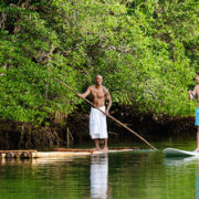 Stand Up Paddle Boarding in Fiji