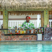 Swim-Up Bar in Fiji