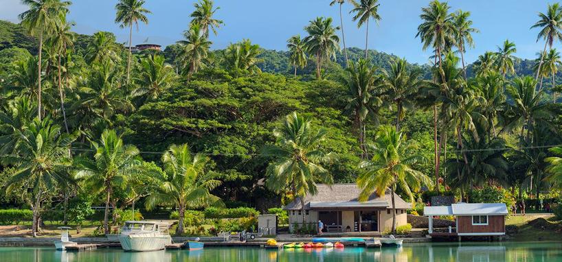 Tropical Resort in Fiji