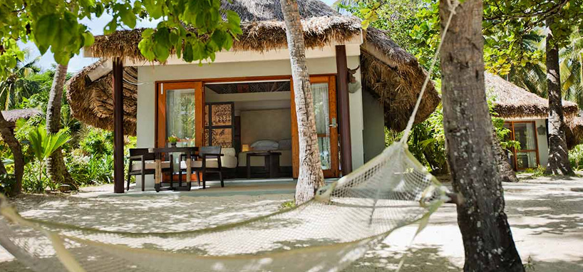 Upgrade to a Beach Front Bure in Fiji