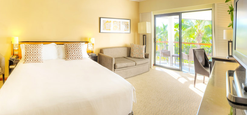 Upgrade to a Queen Superior Oceanside Room