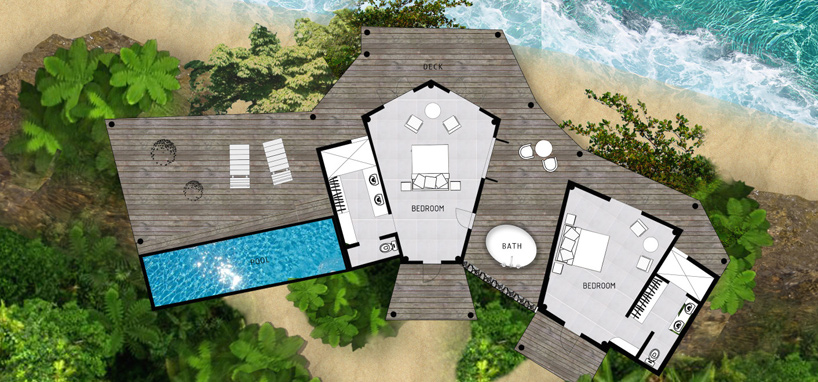 Upgrade to the 2 Bedroom Sea Breeze Villa in Fiji