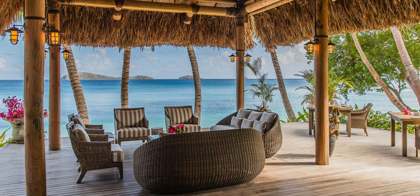 Luxury Beach Lounge in Fiji