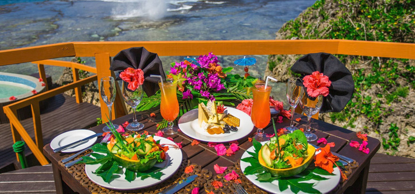 All Inclusive Fiji Luxury Resort Food