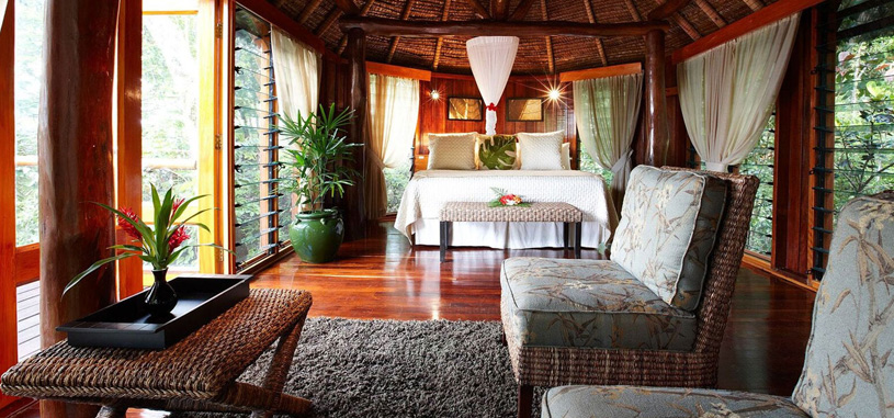 Garden Tropical Bure Fiji Luxury Resort