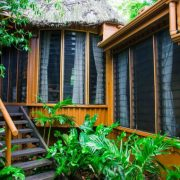 Garden Tropical Bure Authentic Fiji Luxury Resort