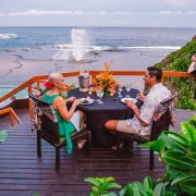 Namale Dining in Tropical Luxury Resort