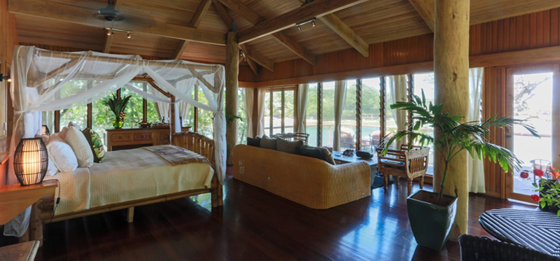 Ocean Tropical Bure Authentic Fiji Luxury Resort