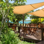 Dining in Fiji resort