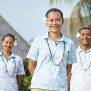 Fiji resort staff