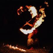 Samoa Fire Dancers