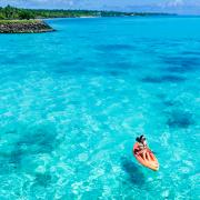 Samoa Kayaking on the Lagoon