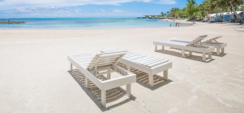 Samoa White Sand Beach
