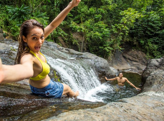Papase'ea Sliding Rocks Upolu Samoa