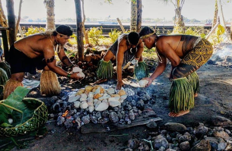 Samoa Cultural Village Upolu Samoa