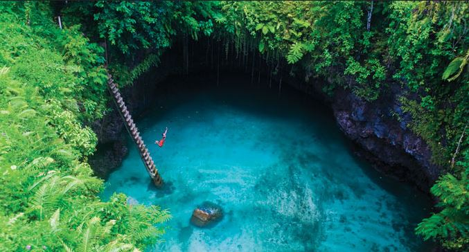 To Sua Trench Upolu Samoa