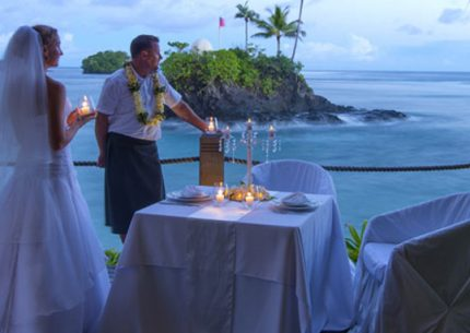 Beach Wedding in Samoa Seabreeze