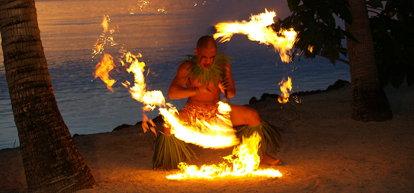 Fire Dance Le Vasa Resort
