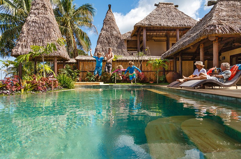 Nanuku Auberge Resort is one of the best Fiji family resorts