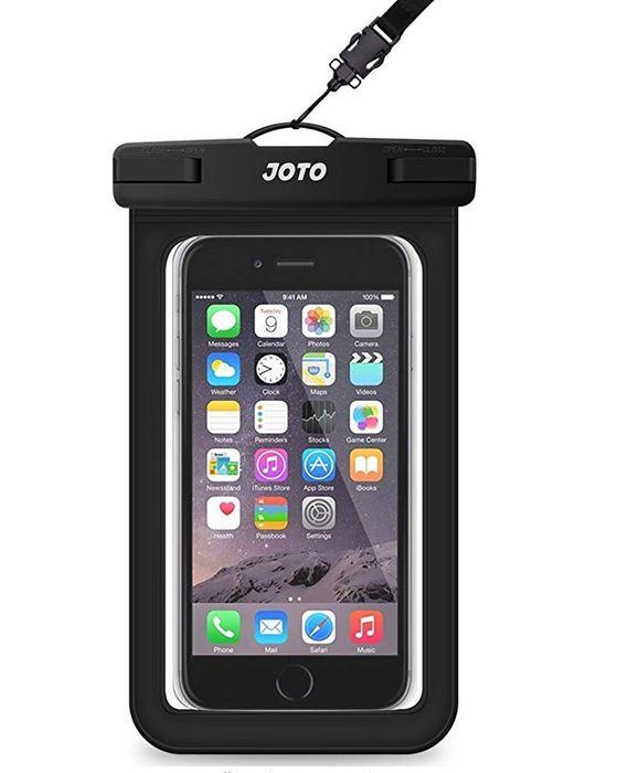 Black Waterproof Phone Case