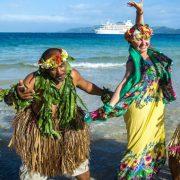 Fijian Island Cruise Dancers
